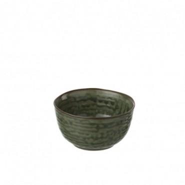 Bol Porcelaine Vert/Marron S