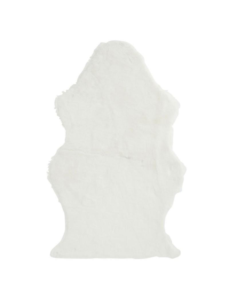 Tapis Mouton Fourrure Blanc