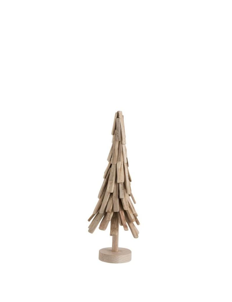 Deco Noel En Bois Naturel sapin noel couches bois naturel moyenne taille