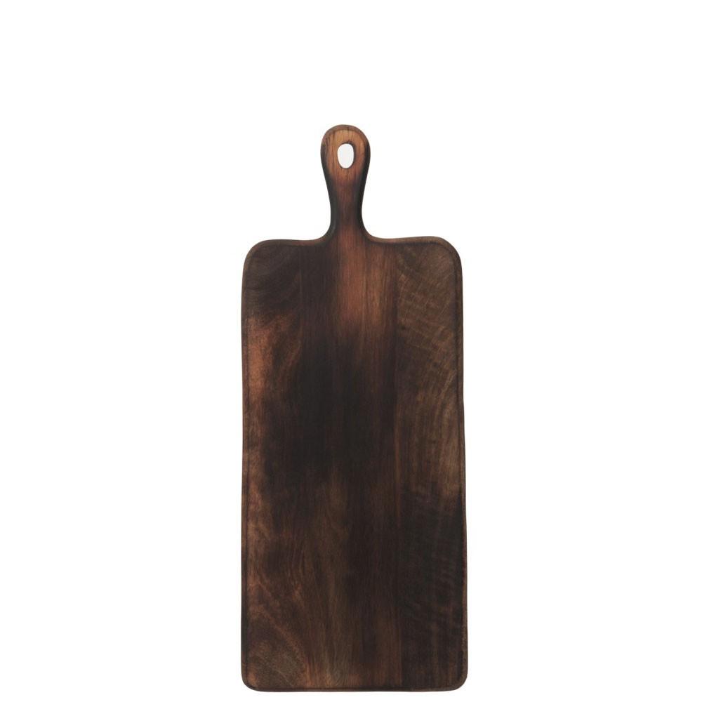 Planche À Decouper Rectangulaire Bois Marron Foncé L