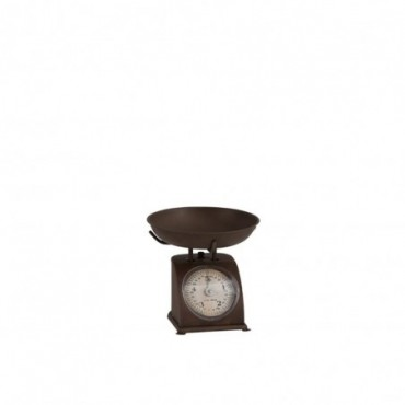 Balance Decorative Metal Marron
