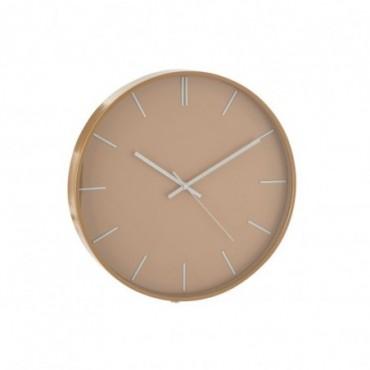 Horloge Alex Plastique Marron Clair