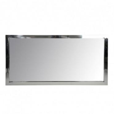Miroir Rectangulaire Acier Inoxydable/Verre Arg 90X4X180Cm