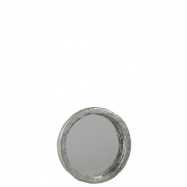 Miroir Resine Argent Taille S