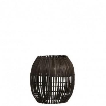 Abat-Jour Barres Bambou Marron Taille S