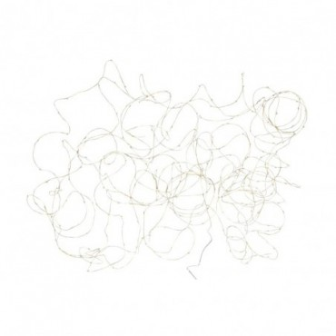Guirlande Luminaire Fil 30M Or 300 Led Blanc Chaud