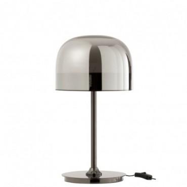 Lampe De Table Topja Verre/Metal Argent