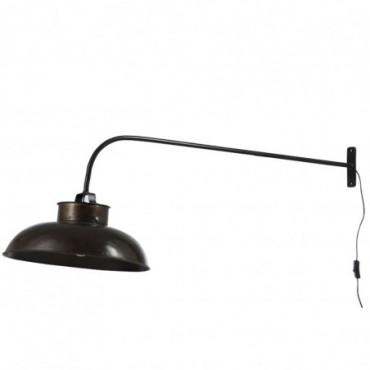Lampe Murale Lounge Metal Noir