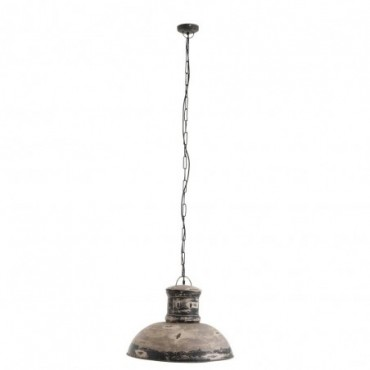 Lampe Suspendue Adel Metal Gris