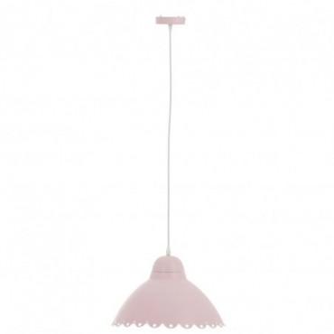 Lampe Suspendue Fleur Candy Metal Rose Clair