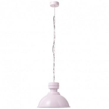 Lampe Suspendue Ronde Metal Rose