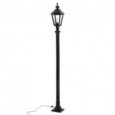 Lanterne Poteau Outdoor Fonte Noir