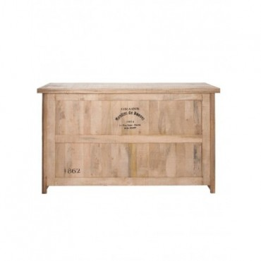 Bar 3 Tiroirs + 3 Planches bois naturel