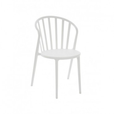 Chaise Andy Pp Blanc
