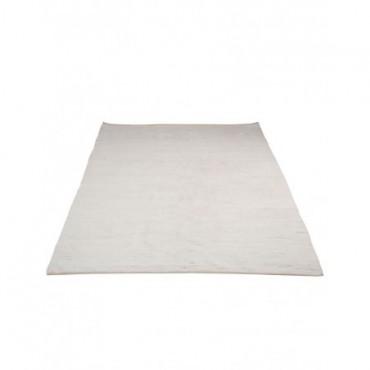 Tapis Rectangle Chindi Blanc