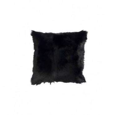Coussin Peau De Chevre Noir
