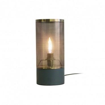 Lampe Alma  Red Cartel Vert mat et laiton brossé 12cm