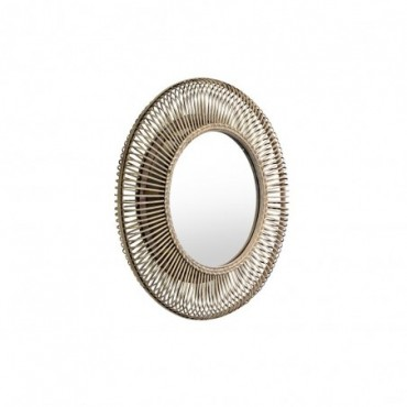 Miroir Buenos  Red Cartel Rotin naturel 82cm
