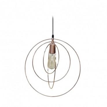 Lampe suspendue Globus  Red Cartel Cuivre brossé