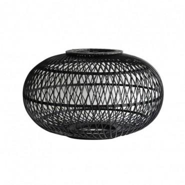 Lampe suspendue Saïgon  Red Cartel Rotin noir