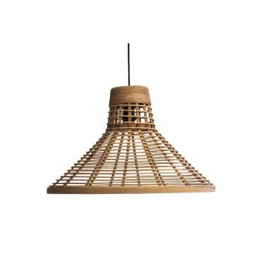 Lampe suspendue Puebla  Red Cartel Rotin naturel 54,5cm