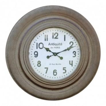 Grande horloge ronde rustique 75cm