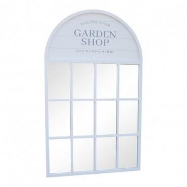Miroir de jardin 60x100cm gris
