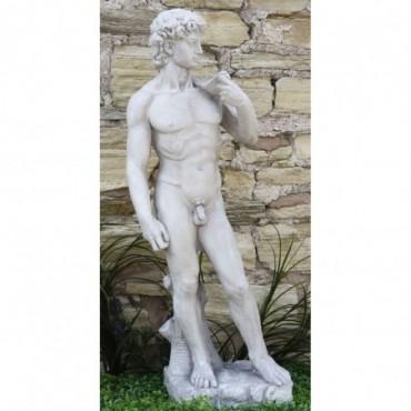 Sculpture David en résine Effet Pierre
