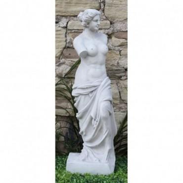 Sculpture Vénus en résine Effet de pierre 89cm