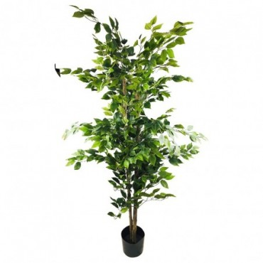 Ficus artificiel avec pot 2m