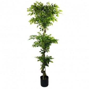 Ficus Artificiel Mini Feuilles 175cm