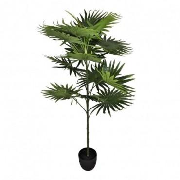 Palmier artificiel 14 feuilles 140cm