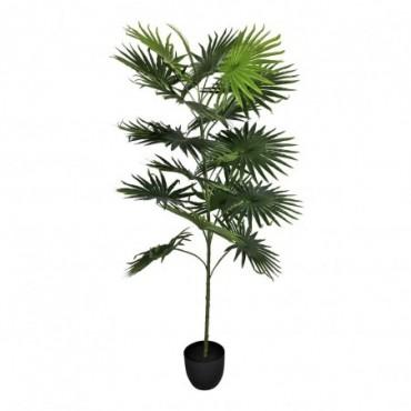 Palmier artificiel avec 18 feuilles 160cm