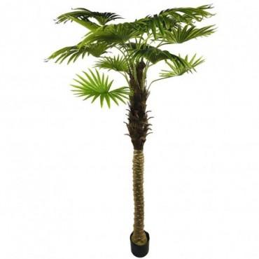Palmier en éventail artificiel 190cm