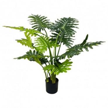 Philodendron artificiel tiges courtes 120cm