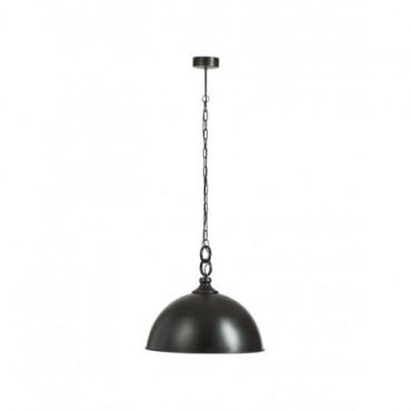 Lampe Suspendue Rond Metal Noir moyen