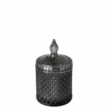 Bougie Parfumée Oriental Bergamot&Fig Verre Noir 60 Heures