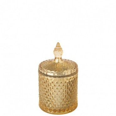 Bougie Parfumée Oriental Midnight Magic Verre Or 60 Heures