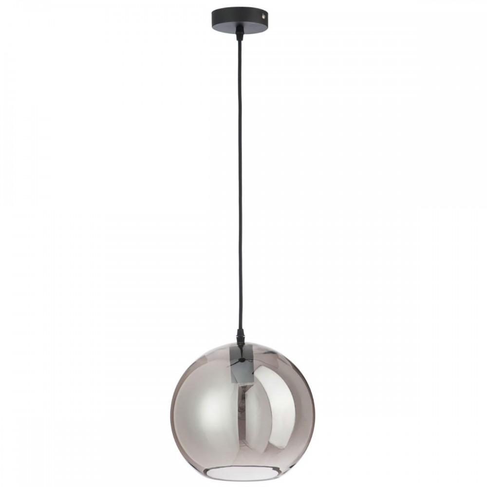 Lampe Boule Verre Argent moyen