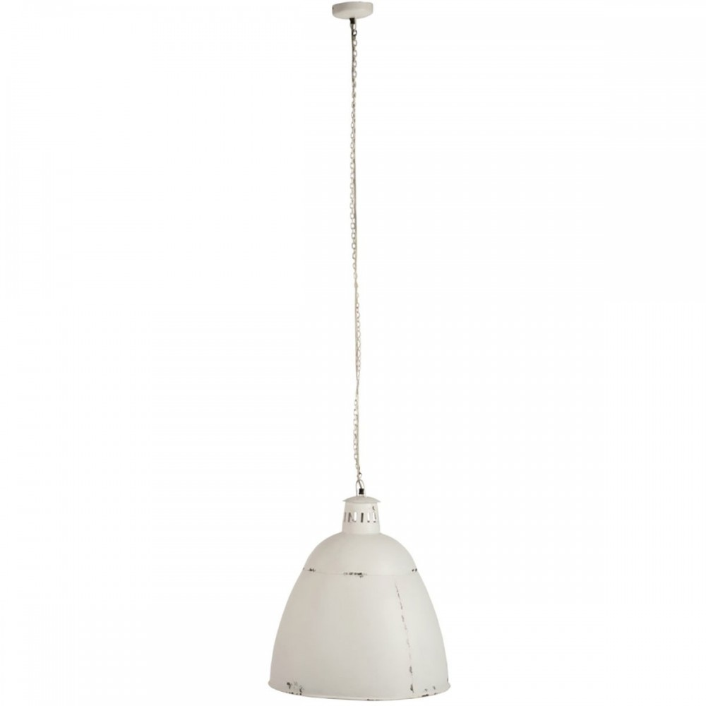 Lampe Suspendue Usa Metal Blanc