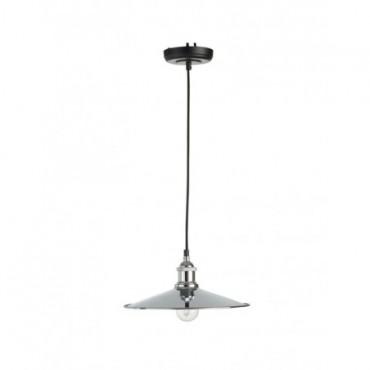 Lampe Suspendue Moderne Metal Argent