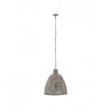 Lampe Suspendue Usa E27 Metal Gris