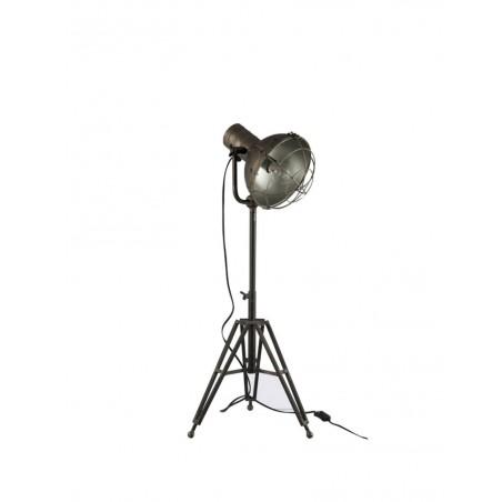 Lampe Sur Pied Ronde Metal Noir