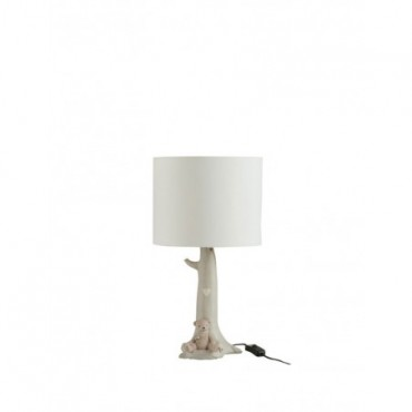 Lampe Branche Ours Beige