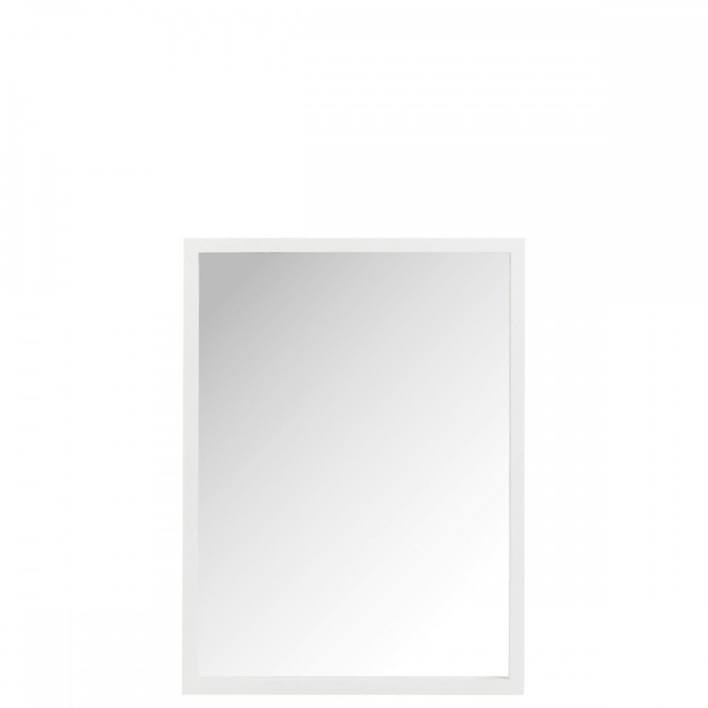 Miroir Rectangulaire Bois Blanc