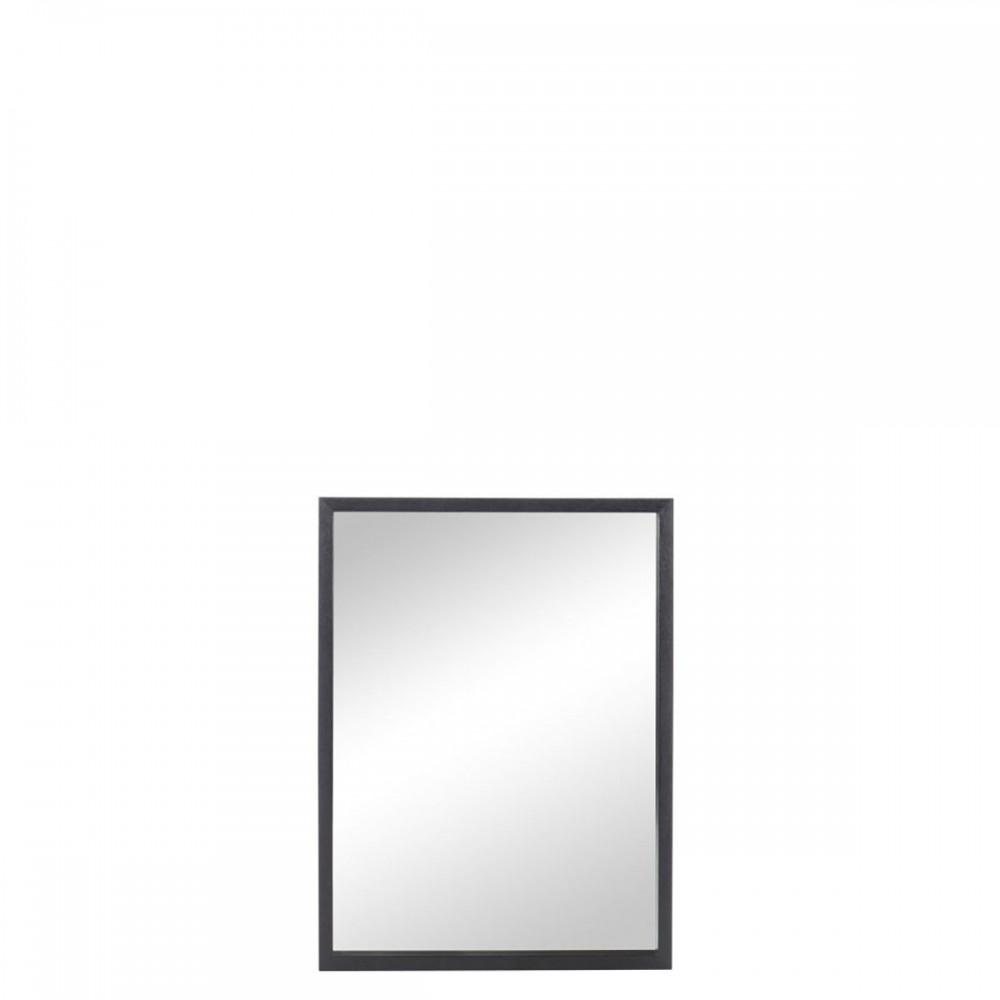 Miroir Rectangulaire Bois Noir
