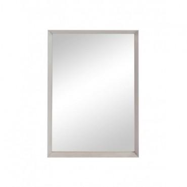 Miroir + Bord Rectangulaire Bois Greige