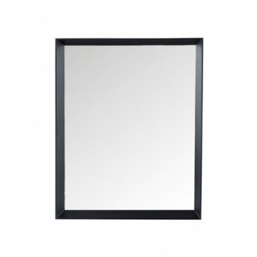 Miroir Rectangulaire bois Verre Noir