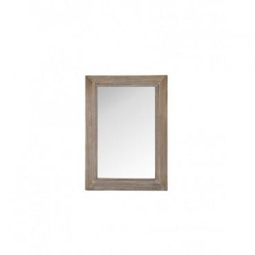 Miroir Bois blanc Wash