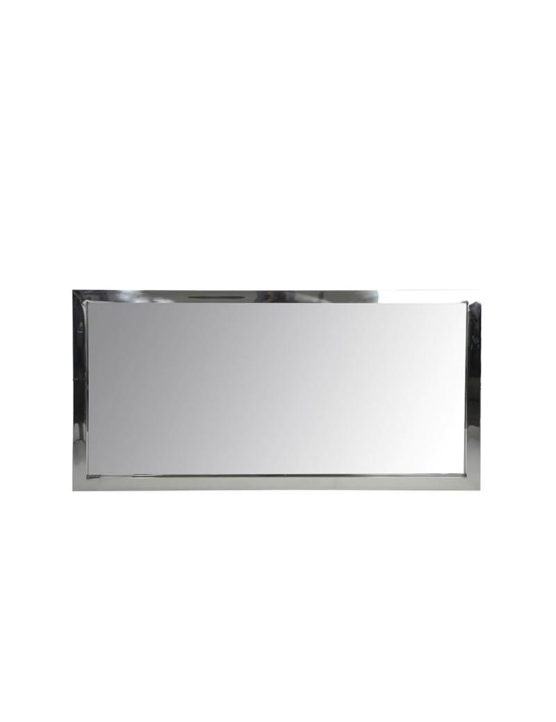 Miroir rectangulaire Acier Inoxydable Verre Arg